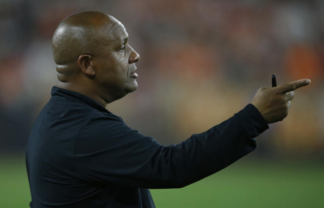 Hue Jackson spent three days in a dark room after he was fired by the Browns. (AP)