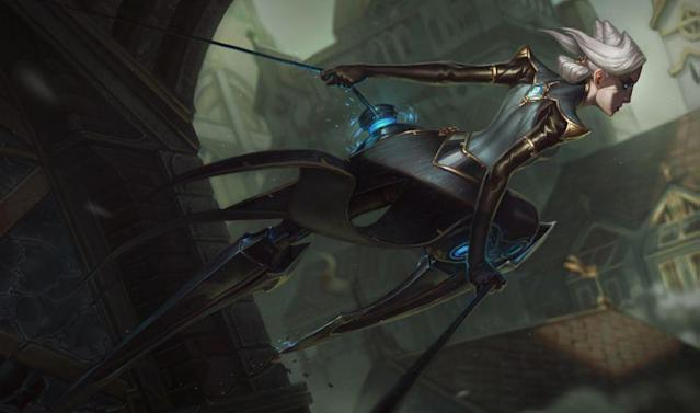 Camille is coming in Patch 6.24 (Riot Games)