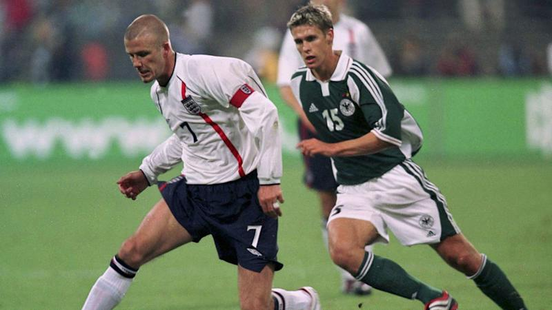David Beckham England Germany