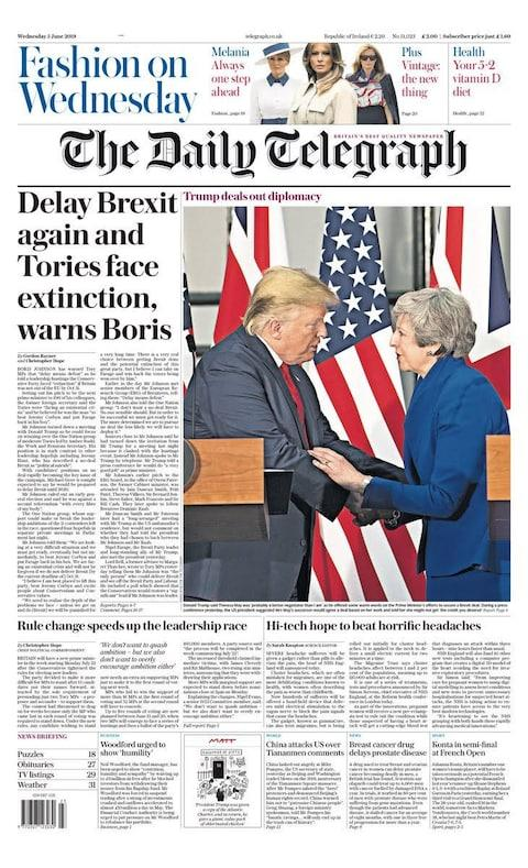 <span>The Daily Telegraph</span> <span>Credit: The Daily Telegraph </span>