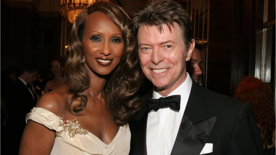 David Bowie Was Just Honored By Wife Iman On What Would
