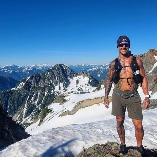 Joel Payeur is a volunteer for Lions Bay Search and Rescue. Payeur will be fundraising for the team by running a grueling 24 hours through the team's turf this weekend.  (Submitted by Joel Payeur - image credit)