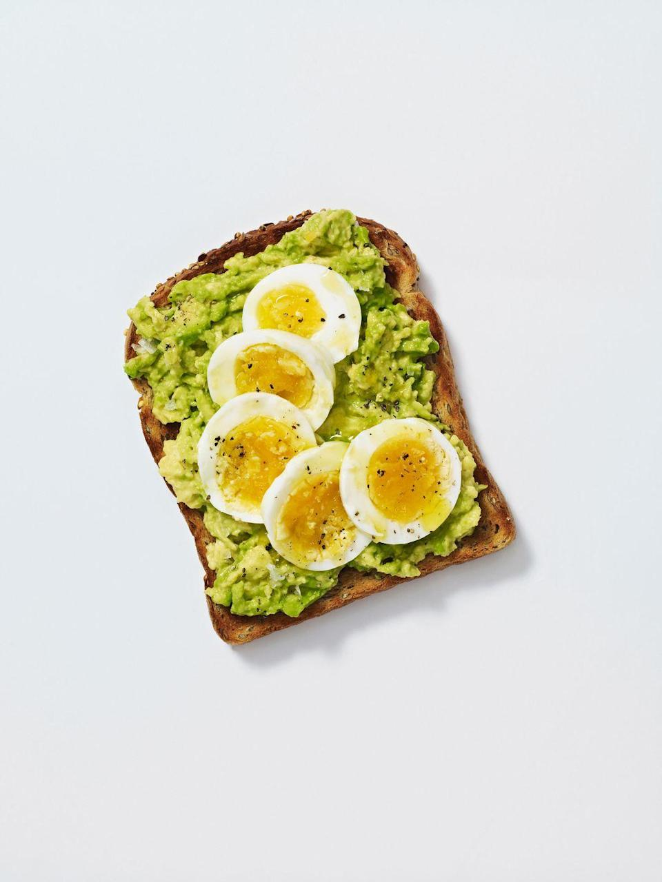 <p>I don't know if this will ever not be a universally loved snack food, but avocado toast became a thing in 2015 for any and every meal of the day. </p>