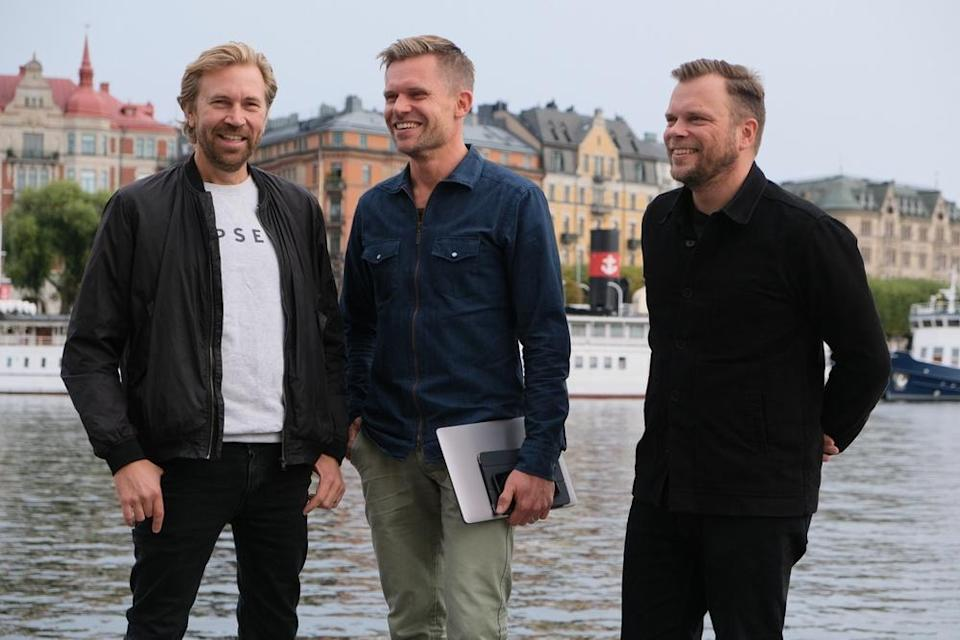 Tipser founders Jonas Sjöstedt (CTO), Marcus Jacobsson (CEO), & Axel Wolrath (CSO).