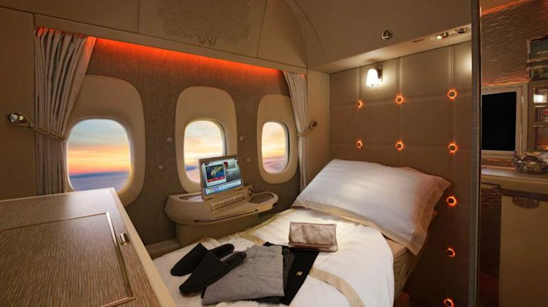 Emirates Seeks to Lead the Way to Windowless Planes