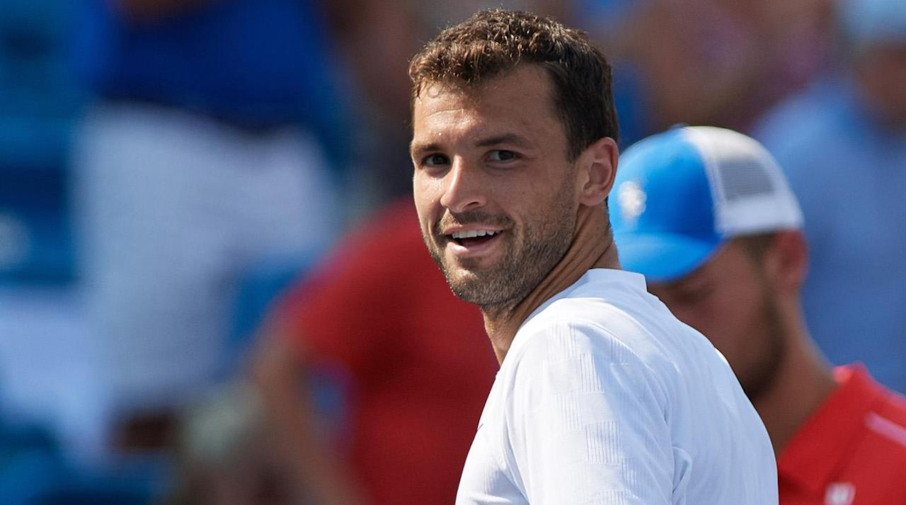 """<p>NEW YORK – The 2017 season has been a renaissance for Grigor Dimitrov. He started the year with a title in Brisbane and followed that with a semifinals appearance at the Australian Open, falling in five sets to Rafael Nadal. After winning his first Masters 1000 title in Cincinnati last week, Dimitrov is back in the top 10 for the first time since 2014.</p><p>With several top players—Andy Murray, Novak Djokovic, Stan Wawrinka, Kei Nishikori and Milos Raonic—skipping the U.S. Open due to injury, Dimitrov is suddenly a contender at the year's final Grand Slam event. After winning Cincinnati without dropping a set, Dimitrov is poised to make a serious run in Flushing Meadows for the first time in his career.</p><p></p><p>Ahead of the U.S. Open, Dimitrov spoke to SI in New York on behalf of Wilson, which just launched a <a rel=""""nofollow"""" href=""""https://ec.yimg.com/ec?url=http%3a%2f%2fwww.wilson.com%2fcustom%2frackets%2f%26quot%3b%26gt%3bnew&t=1505895451&sig=Isc1xOA_jKILO82C1f4V.A--~D digital custom tennis racket platform</a>. After showing off his own special-designed racket and demonstrating the new online platform, Dimitrov discussed his relationship to his fellow pros, his love for <em>The Notebook</em> and more.</p><p><em>This interview has been edited and condensed for clarity.</em></p><p><strong>Stanley Kay: </strong><em>In Cincinnati, you and Nick Kyrgios shared a long hug at the net after the final. You obviously seemed to help him out a lot during the week. What</em><em>'s the best advice you</em><em>'ve ever gotten from a fellow pro?</em></p><p><strong>Grigor Dimitrov</strong>: That's a very good question. I've never had anybody voluntarily come to me and give me advice, which is OK I guess. But me asking somebody—one of the nicest things that I actually heard, and it was pretty recent, was when I practiced with Rafa [Nadal] in Mallorca. We were just on a boat together one afternoon, we were resting, and I was like, """"Man, what do you think? What do you think """