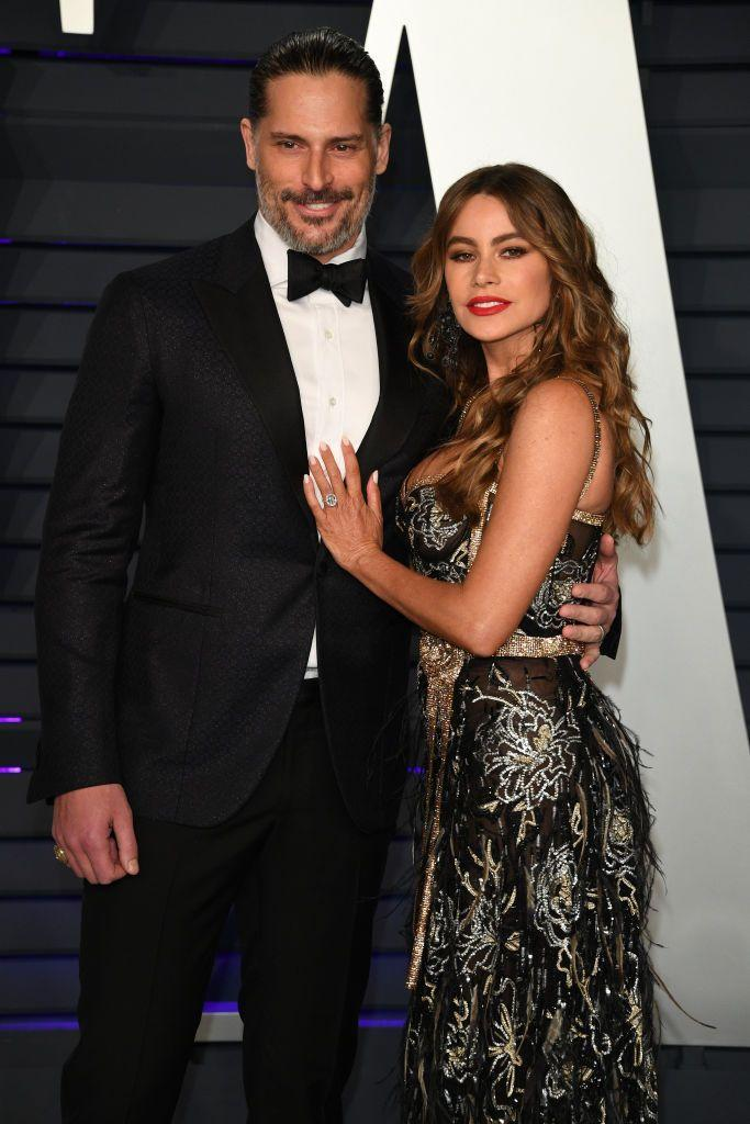 """<p>Vergara and Manganiello began dating in June of 2014 and were engaged six months later. She <a href=""""https://people.com/tv/sofia-vergara-talks-first-date-with-joe-manganiello-on-ellen/"""" rel=""""nofollow noopener"""" target=""""_blank"""" data-ylk=""""slk:gushed about him"""" class=""""link rapid-noclick-resp"""">gushed about him</a> on <em>The Ellen Degeneres Show</em>, saying """"He's a great guy—super fun, super normal, and we clicked."""" Want to hear something even cuter? Before they were together, Manganiello <a href=""""https://people.com/archive/cover-story-true-stud-no-1-hottest-bachelor-joe-manganiello-vol-82-no-2/"""" rel=""""nofollow noopener"""" target=""""_blank"""" data-ylk=""""slk:told People"""" class=""""link rapid-noclick-resp"""">told <em>People</em></a> that she was his celebrity crush.</p>"""