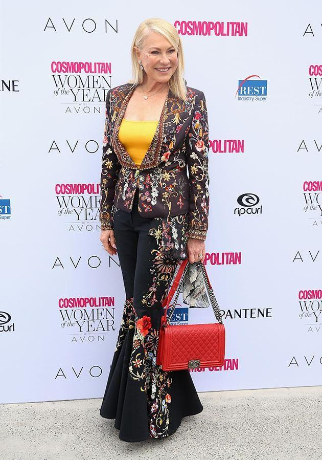 Kerri-Anne Kennerley has opened up about interviewing a