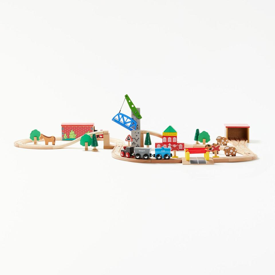 <p>Stuck for a Christmas idea for your little ones this year? A wooden train set is always a good idea — and will guarantee hours of fun. </p>