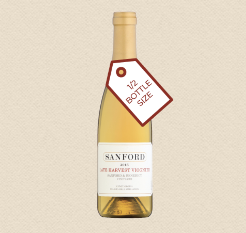 """<p>sanfordwinery.com</p><p><strong>$43.00</strong></p><p><a href=""""https://www.sanfordwinery.com/product/sanford-sanford-benedict-late-harvest-viognier-2015"""" rel=""""nofollow noopener"""" target=""""_blank"""" data-ylk=""""slk:Shop Now"""" class=""""link rapid-noclick-resp"""">Shop Now</a></p><p>No Thanksgiving dinner is complete with a slice of pumpkin pie at the end of your meal. Pair all those beautiful baking spices with a late harvest dessert wine like this stunning dessert Viognier courtesy of Sanford. With generous notes of jasmine, mango, apricot, and the perfect balance between sweetness and acid, it's a great complement to most Turkey Day desserts.</p>"""