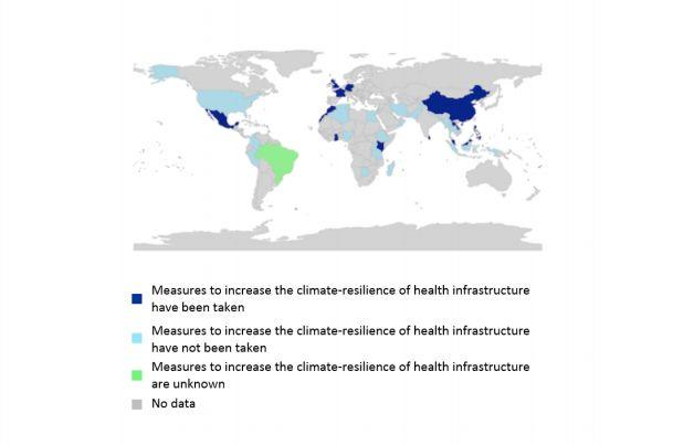 The U.S. is among the countries that have not taken measures to improve health infrastructure to deal with the influx of climate-related maladies.