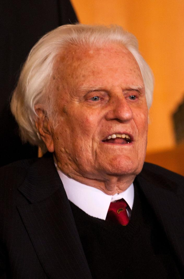 Billy Graham, seen in 2010, has died at the age of 99. (Photo: CHRIS KEANE / Reuters)