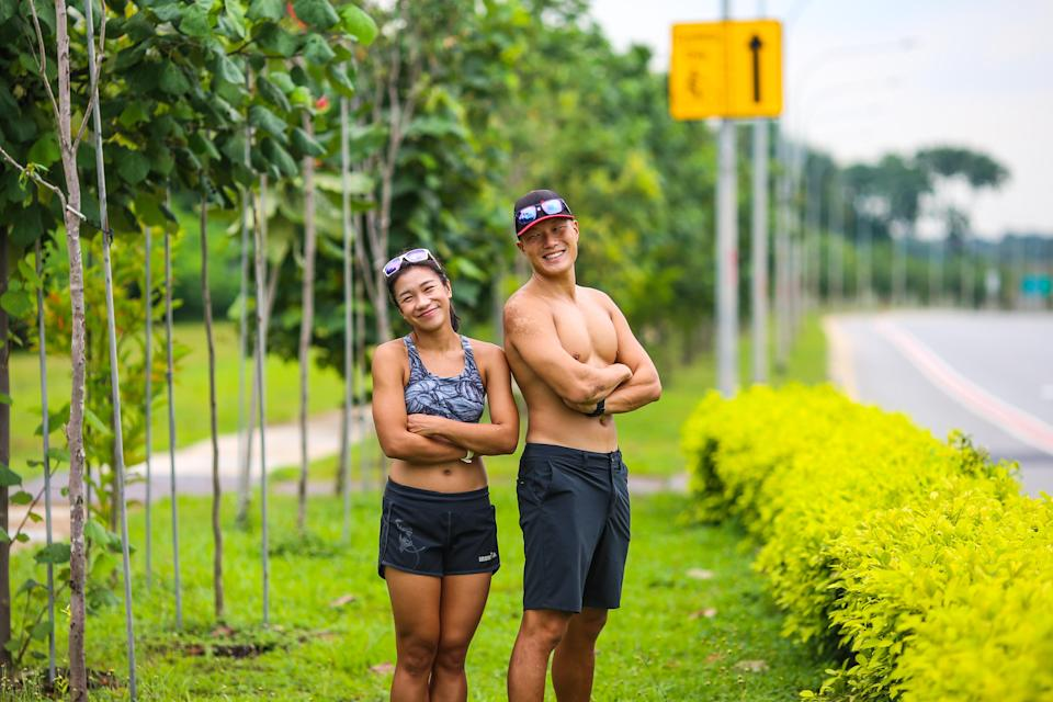 Singapore #Fitspo of the Week: Arthur Tong and Elaine Young. (PHOTO: Cheryl Tay)