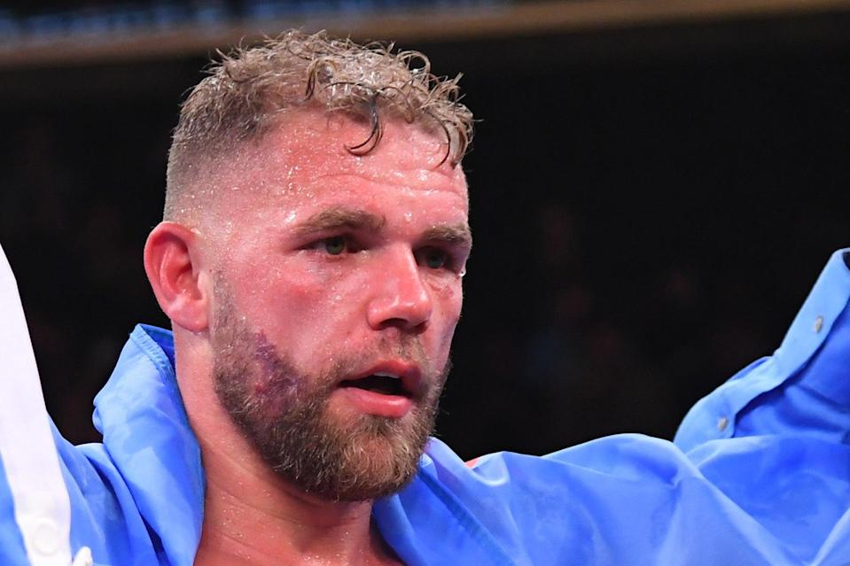 <p>Champion: Billy Joe Saunders</p> (Getty Images)