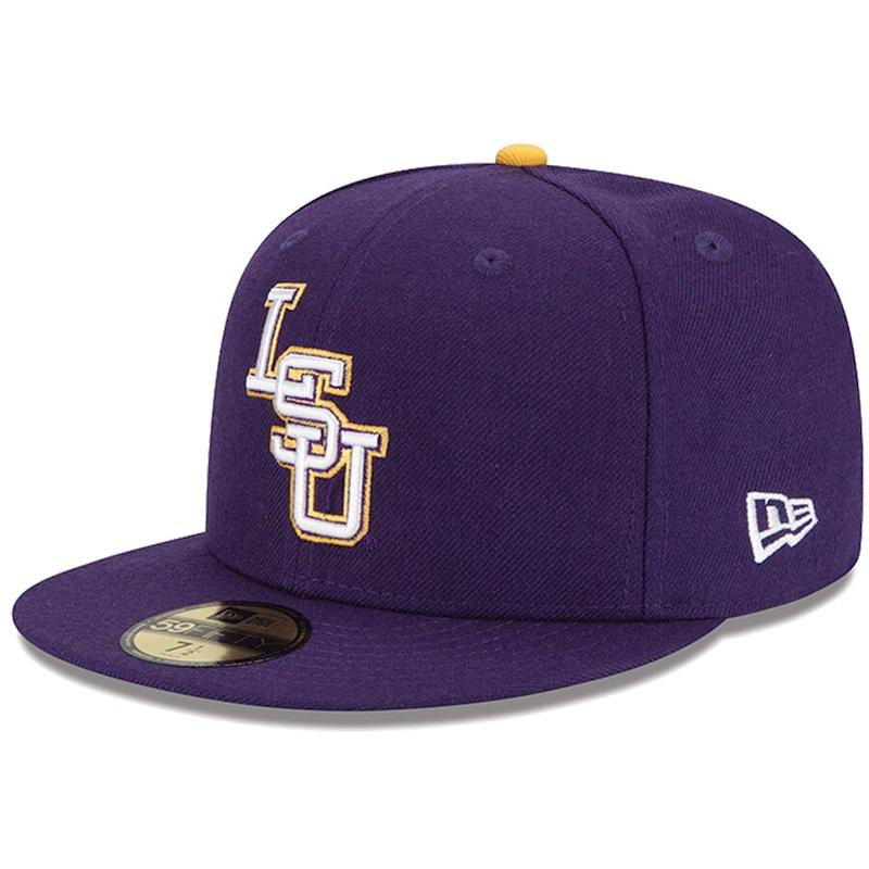 LSU Fitted Hat