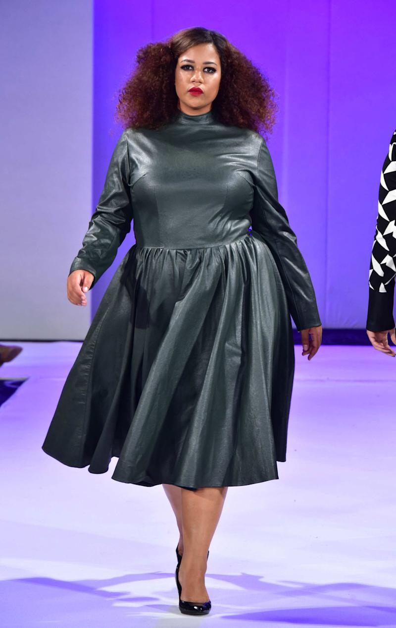 1b340a08f4b Plus-Size Fashion Week  Beautiful Models Of All Shapes And Sizes Take The  Catwalk By Storm