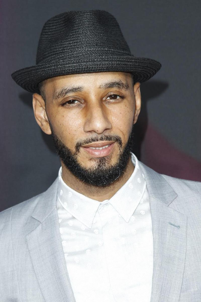 "FILE - In this Nov. 17, 2012 file photo, recording artist Swizz Beatz arrives at the TeenNick HALO Awards at the Hollywood Palladium in Los Angeles. On Nov. 27, 2012, Alicia Keys releases her fifth album, ""Girl on Fire."" It features Frank Ocean, Bruno Mars, Babyface, Emeli Sande, Maxwell, Nicki Minaj, John Legend, her husband Swizz Beatz and their son Egypt. (Photo by Joe Kohen/Invision/AP, File)"