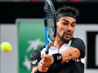 Shanghai Masters 2019: Fabio Fognini says Andy Murray just like him 'because he complains'