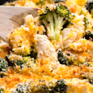 """<p>We can't get enough of this cheesy rice bake stuffed with chicken, broccoli, and cheddar. The brilliance of this dish isn't just the flavour combo—it's the fact that you're making it all in one pan... one pan, people! </p><p>Get the <a href=""""https://www.delish.com/uk/cooking/recipes/a30070114/cheesy-chicken-broccoli-bake-recipe/"""" rel=""""nofollow noopener"""" target=""""_blank"""" data-ylk=""""slk:Cheesy Chicken Broccoli Bake"""" class=""""link rapid-noclick-resp"""">Cheesy Chicken Broccoli Bake</a> recipe.</p>"""