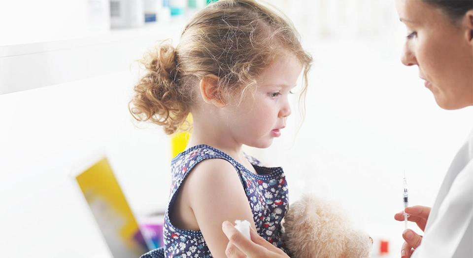Children under the age of six will be turned away from nursery if they are not immunised. [Photo: Getty]