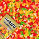 """<p><strong>Haribo</strong></p><p>amazon.com</p><p><strong>$7.98</strong></p><p><a href=""""https://www.amazon.com/dp/B01N5SS0TB?tag=syn-yahoo-20&ascsubtag=%5Bartid%7C2089.g.3486%5Bsrc%7Cyahoo-us"""" rel=""""nofollow noopener"""" target=""""_blank"""" data-ylk=""""slk:Shop Now"""" class=""""link rapid-noclick-resp"""">Shop Now</a></p><p>What's better than a pound of gummi bears? A three-pound bag of gummi bears. This giant bag will certainly keep your sweet tooth satisfied for quite a while. Another option is to split the candies into individual bags, so that way you have the perfect portion for whenever you need a snack.</p>"""