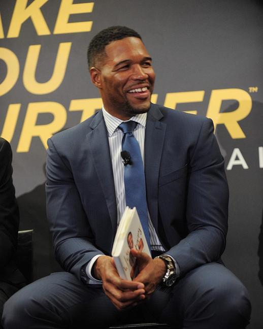 "<p>The host of ""Live with Kelly and Michael"" spoke on a Johnnie Walker whisky panel at the Explorer's Club in New York City about the role joy plays in helping people achieve success.  <br /></p><p><i>Photo: Instagram/<a href=""https://instagram.com/michaelstrahan/"" title=""michaelstrahan"">michaelstrahan</a></i></p>"