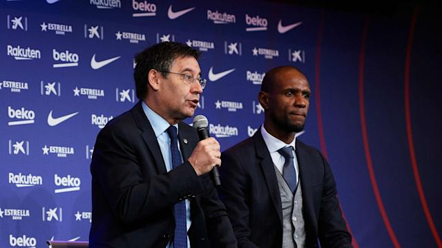 Speaking to other coaches while Ernesto Valverde was still in his job does not amount to disrespect, says Barca chief Josep Maria Bartomeu.
