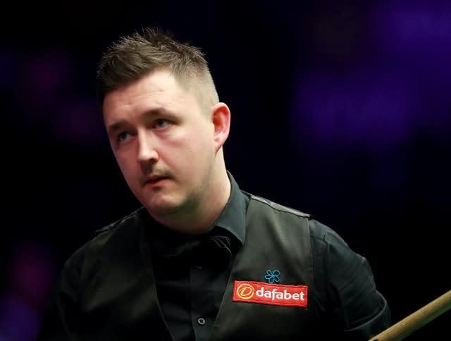 Kyren Wilson will receive a bye into the World Championship second round (Adam Davy/PA)