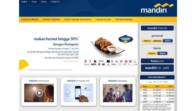 Indonesia's Bank Mandiri launches incubator for fintech startups
