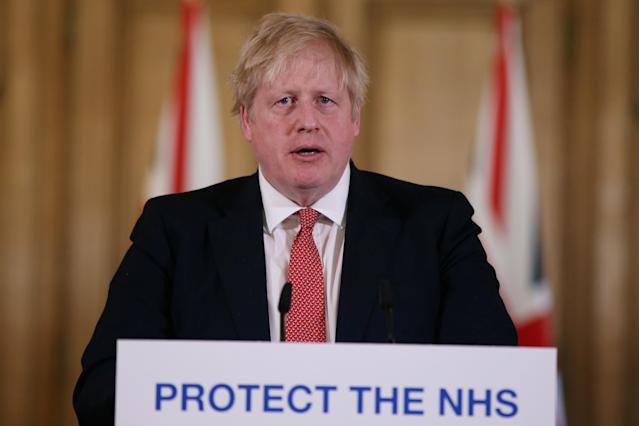 Boris Johnson's 'relaxed' approach to coronavirus could cost lives, a doctor MP has warned. (Ian Vogler/Pool via Reuters)