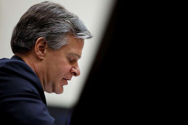 PHOTO: FBI Director Christopher Wray testifies before the House Judiciary Committee at Capitol Hill in Washington on Feb. 5, 2020. (Tom Brenner/Reuters)