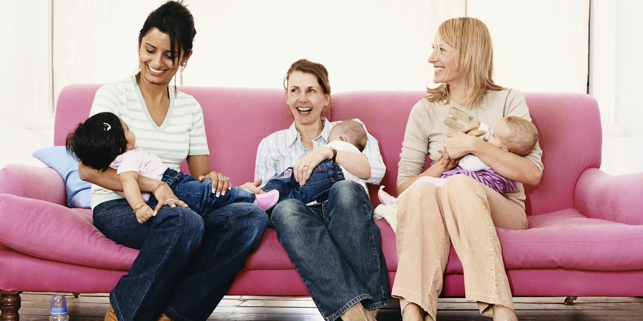 <p>Baby-and-mommy bonding isn't the only important thing you should do after having a child. Becoming BFFs with other new moms will do a whole lot more than keep you sane - <em>and</em> make you laugh during 3 a.m. breastfeeding sessions.<span></span></p>
