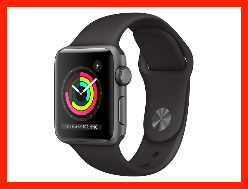 Save 15 percent on the Apple Watch Series 3 (GPS, 38mm)—Space Gray Aluminum Case with Black Sport Band. (Photo: Amazon)