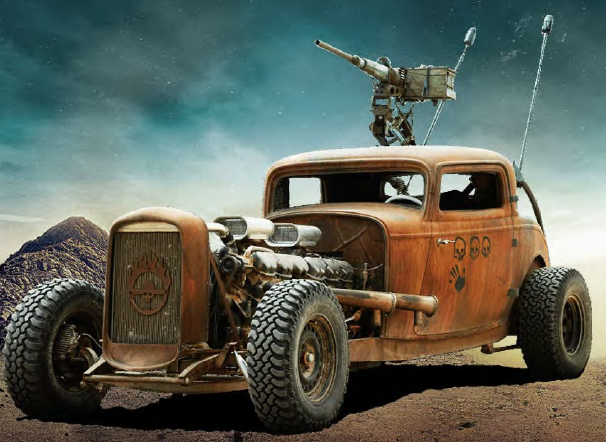 CONVOY CAR: ELVIS from Mad Max Fury Road