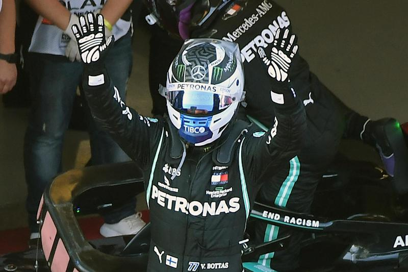 Bottas clinches just his second win of 2020: POOL/AFP via Getty Images