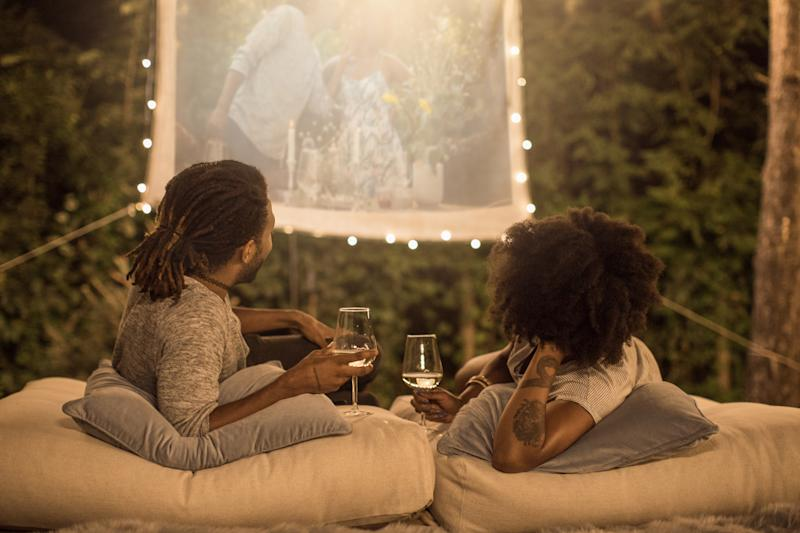 Movie night under the stars, anyone? (Photo: Getty Images)