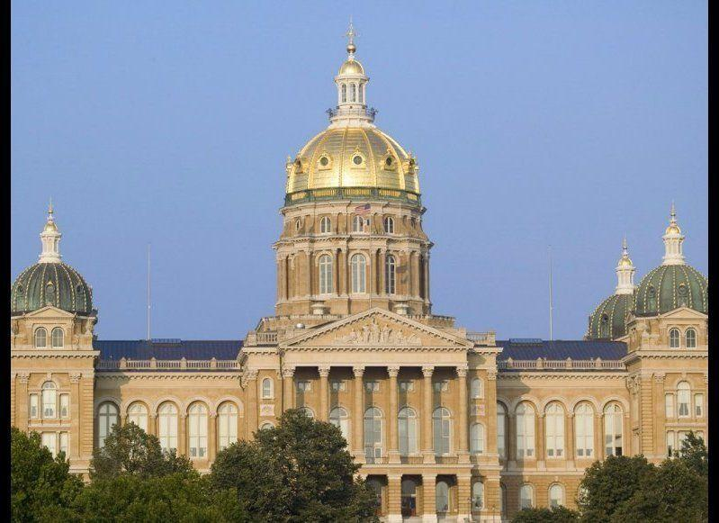 <strong>IOWA STATE CAPITOL</strong> Des Moines, Iowa <strong>Year completed:</strong> 1886 <strong>Architectural style:</strong> Renaissance <strong>FYI: </strong>The Iowa State Capitol has something for fashion lovers as well as history buffs: glass cases inside the first floor of the capitol building display 42 dolls—one for each governor's wife—wearing a replica of the dress she wore to the inaugural ball. <strong>Visit: </strong>Guided tours leave Monday through Friday at various times. On Saturdays, tours depart every hour from 9:30 a.m. to 2:30 p.m.