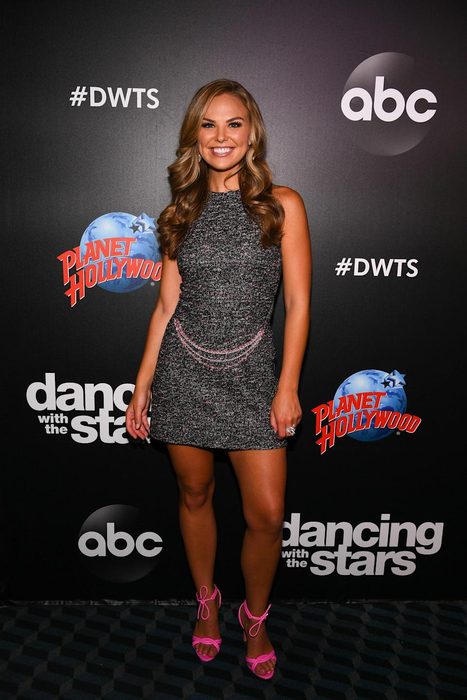 """Brown was confirmed as part of the season-28 cast on <em>Good Morning America</em> on Tuesday, August 20. """"I'm so excited. I want a fresh start, something I can, you know, go all in with emotionally, physically, spiritually, and I think dance is something that I can do that with,"""" she <a href=""""https://www.cheatsheet.com/entertainment/dancing-with-the-stars-announces-its-celebs-for-season-28-and-you-wont-believe-whos-on-the-list.html/"""" rel=""""nofollow noopener"""" target=""""_blank"""" data-ylk=""""slk:said"""" class=""""link rapid-noclick-resp"""">said</a> on <em>GMA.</em> """"I just hope it ends a little differently."""""""