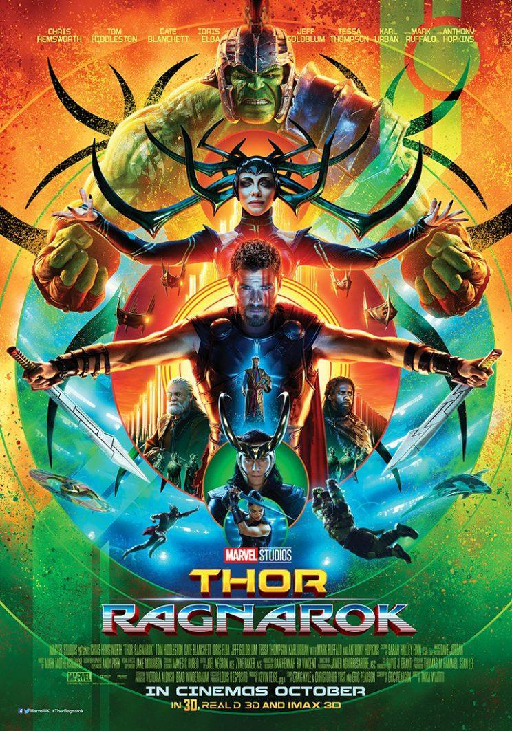 Thor: Ragnarok gets a trippy new poster - Credit: Marvel