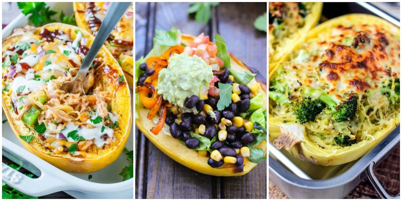 54 healthy spaghetti squash recipes for fall pgluten free and void of carbs spaghetti squash is the best forumfinder Images