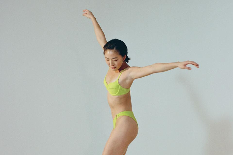 """""""The latest addition to my collection is this lime green bikini from Ookioh. Their swimwear is affordable, sustainable, and always on-trend. While this particular color is quite bold for me, I have been surprised by how much I can style it with."""" <br> <br> <strong>Ookioh</strong> Como Top, $, available at <a href=""""https://go.skimresources.com/?id=30283X879131&url=https%3A%2F%2Fookioh.com%2Fcollections%2Ftops%2Fproducts%2Fcomo-bikini-top-comolime"""" rel=""""nofollow noopener"""" target=""""_blank"""" data-ylk=""""slk:Ookioh"""" class=""""link rapid-noclick-resp"""">Ookioh</a> <br> <br> <strong>Ookioh</strong> Monaco Bottom, $, available at <a href=""""https://go.skimresources.com/?id=30283X879131&url=https%3A%2F%2Fookioh.com%2Fcollections%2Fbottoms%2Fproducts%2Fmonaco-bikini-bottom-monacolime"""" rel=""""nofollow noopener"""" target=""""_blank"""" data-ylk=""""slk:Ookioh"""" class=""""link rapid-noclick-resp"""">Ookioh</a>"""