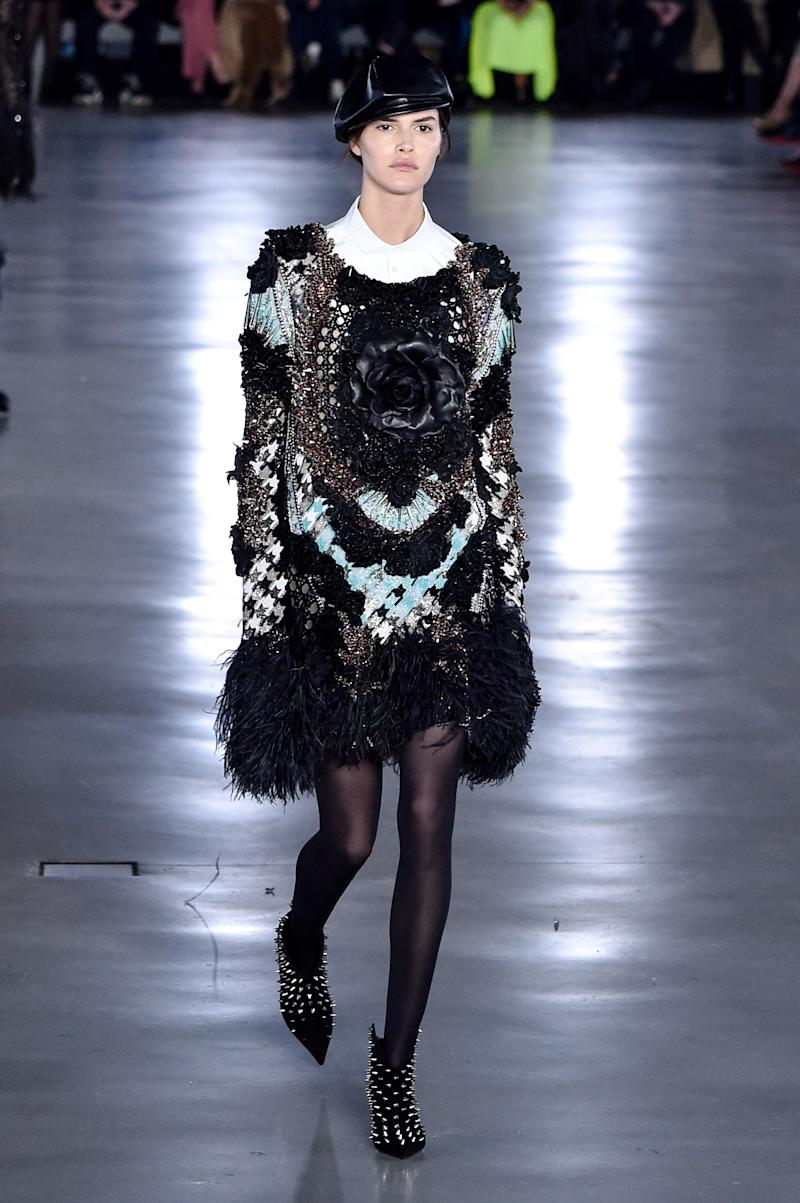 Back in 2015, Vanessa Moody was practically everywhere. And while she still occasionally turns up the runway, her days of walking 50-plus shows per season are definitely in the past. Understandably, though, this season she returned to the spotlight for Olivier Rousteing, who cast her in Balmain's fall/winter 2019 show during Paris Fashion Week in March 2019.