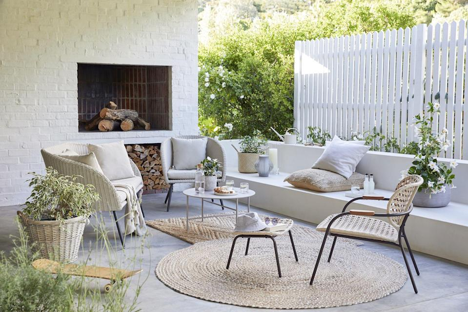 """<p>John Lewis has launched its new spring/summer 2021 <a href=""""https://www.housebeautiful.com/uk/garden/designs/a495/garden-design-ideas/"""" rel=""""nofollow noopener"""" target=""""_blank"""" data-ylk=""""slk:garden"""" class=""""link rapid-noclick-resp"""">garden</a> collection, featuring <a href=""""https://www.housebeautiful.com/uk/garden/g35548498/hanging-egg-chair/"""" rel=""""nofollow noopener"""" target=""""_blank"""" data-ylk=""""slk:hanging egg chairs"""" class=""""link rapid-noclick-resp"""">hanging egg chairs</a>, sumptuous sofas and bistro sets for alfresco feasts. And we want everything.</p><p>'As spring approaches and the better weather starts to emerge, it's time to turn your attention to your outside space,' says Ian Ellis, Partner & Outdoor Buyer at John Lewis & Partners.</p><p>'This season we have grown our selection of outdoor furniture, expanding on some of our customer favourite designs such as the vibrant Salsa and classic Rye collection and introduced new contemporary and Scandi-inspired pieces. From smaller spaces, such as patios and balconies, to larger gardens, we have carefully curated a selection to suit every space.'</p><p>With <a href=""""https://www.housebeautiful.com/uk/garden/a35939672/garden-rule-six-gathering-outdoors/"""" rel=""""nofollow noopener"""" target=""""_blank"""" data-ylk=""""slk:socially-distanced garden gatherings"""" class=""""link rapid-noclick-resp"""">socially-distanced garden gatherings</a>, now is the perfect time to hit refresh on your outdoor space. Take a look at the new range below, but be quick if you want anything because it's selling fast...<br></p>"""
