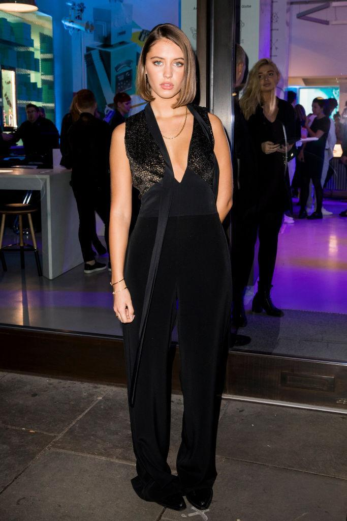 <p>Iris Law reminded us why she's our new go-to style muse at a Tiffany & Co. event in Covent Garden in the brand's cult jewels and a black jumpsuit. Can Christmas just hurry up already so we too can don a little glitter? <em>[Photo: Getty]</em> </p>