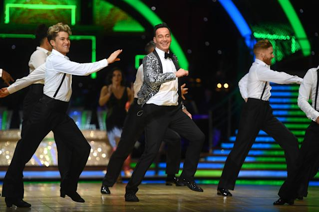 Craig Revel Horwood during the opening night of the Strictly Come Dancing Arena Tour 2020 at Arena Birmingham on January 16, 2020 in Birmingham, England. (Photo by Dave J Hogan/Getty Images)