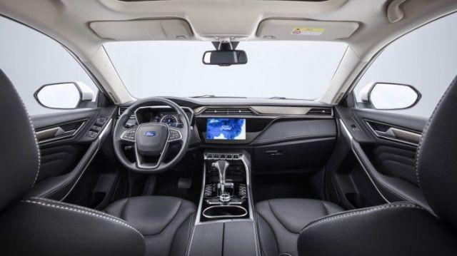 The interior of the all-new Ford Territory