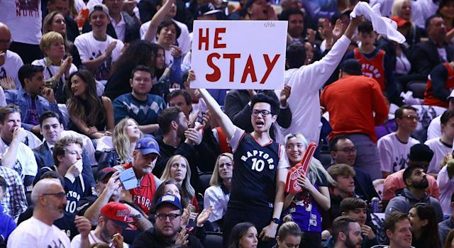 This seasons has been a roller coaster of emotions for Raptors fans. (Photo by Vaughn Ridley/Getty Images)