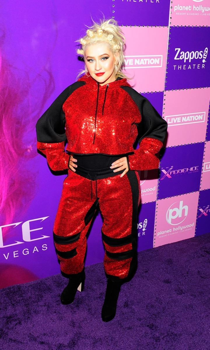 "attends the grand opening of the ""Christina Aguilera: The Xperience"" residency at Planet Hollywood Resort & Casino on May 31, 2019 in Las Vegas, Nevada."