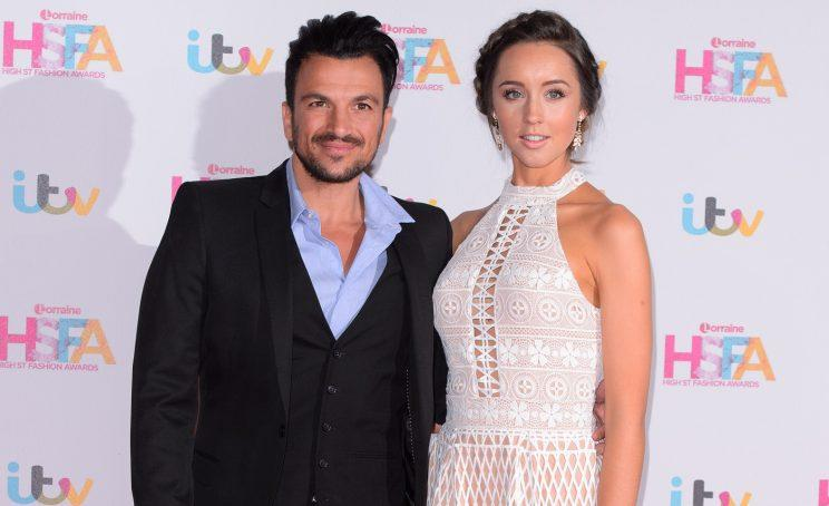Peter Andre and Emily MacDonagh welcome a baby boy