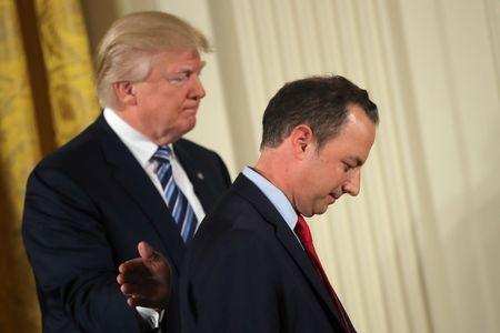 Trump names new chief of staff John Kelly, ousts Reince Priebus